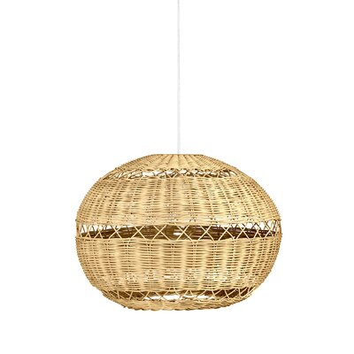 Open Weave 1-Light Globe Pendant