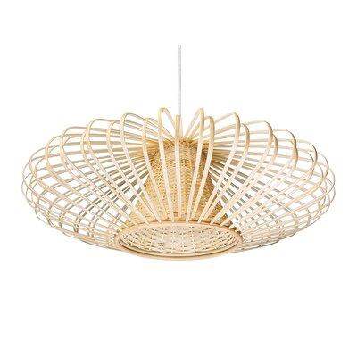 Handwoven Light Bamboori Design Pendant