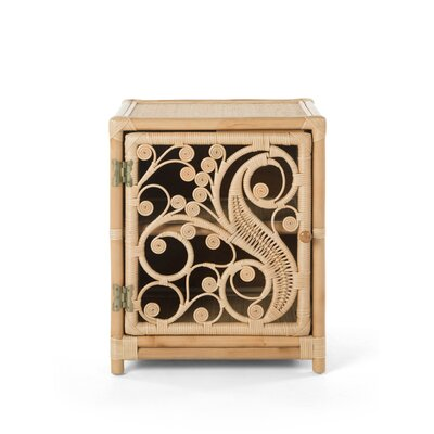 Rosana Peacock Nightstand Orientation: Right, Color: Natural