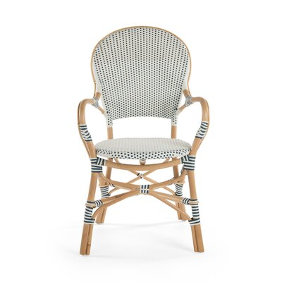 Tawanna Rattan Arm Chair