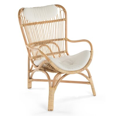Deloris Rattan Armchair Finish: Natural