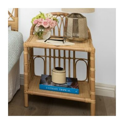Deloris Rattan Nightstand Finish: Natural