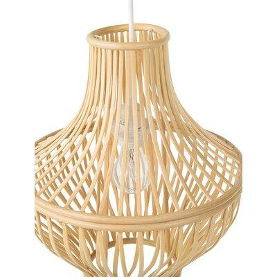 Somerton Bamboo Jar 1-Light LED Inverted Pendant