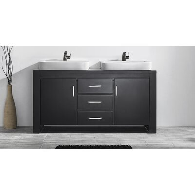 Pascara 63 Double Bathroom Vanity Set