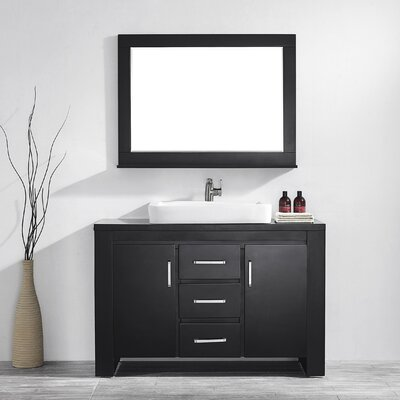 Pascara 48 Single Vanity Set with Mirror