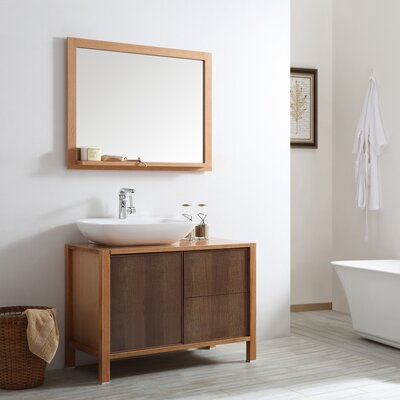 Monza 40 Single Vanity Set with Mirror