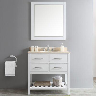Foligno 36 Single Vanity Set with Mirror