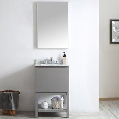 Venzia 24 Single Vanity Set with Mirror