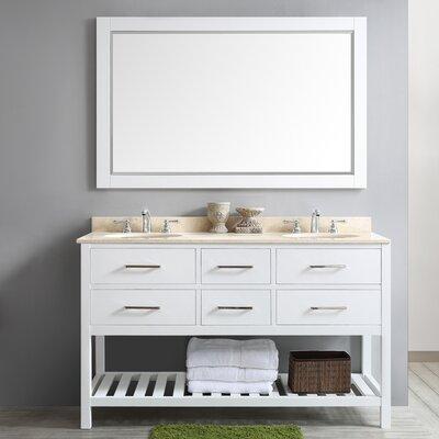 Foligno 60 Double Vanity Set with Mirror
