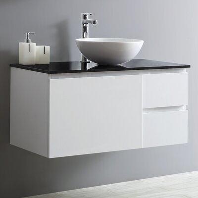 Ferrara 36 Single Vanity Set Base Finish: White