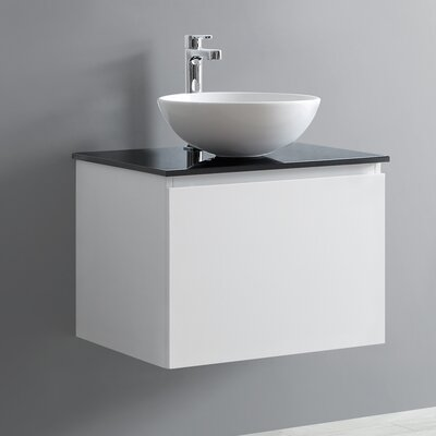 Ferrara 24 Single Vanity Set Base Finish: White