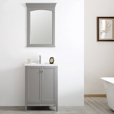 Asti 24 Vanity Set with Mirror