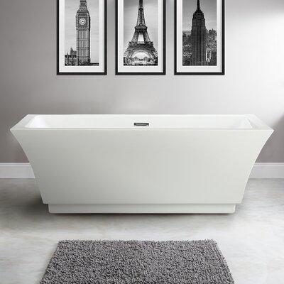 Allegra 66.5 x 31.5 Soaking Bathtub