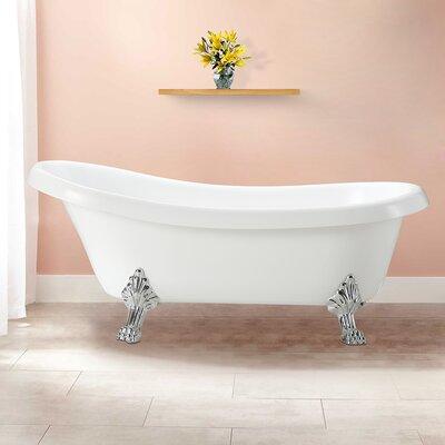 Clermont 63 x 28 Soaking Bathtub
