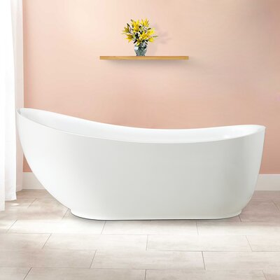 Everlie 71 x 35 Soaking Bathtub