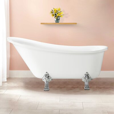 Jacqueline 63 x 28 Soaking Bathtub