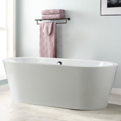 Melania 68 x 32 Soaking Bathtub
