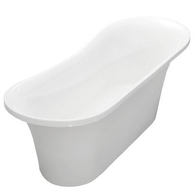 Sicily 66 x 29 Freestanding Soaking Bathtub