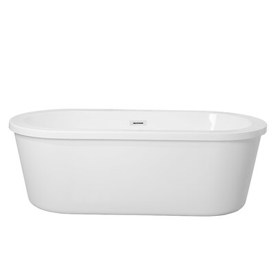 Arezzo 66 x 31 Freestanding Soaking Bathtub