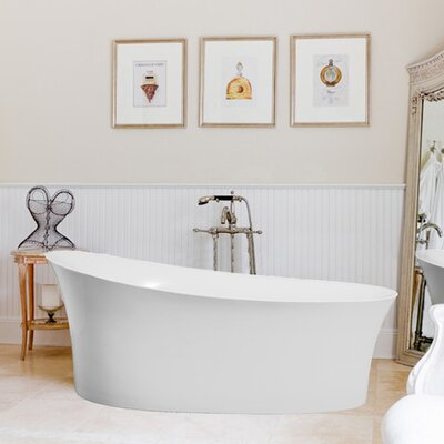 Fano 67 x 33 Freestanding Soaking Bathtub