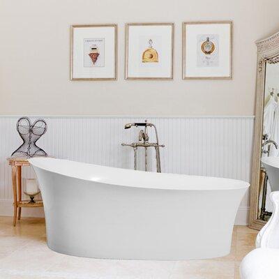 Fano 67 x 33 Freestanding Soaking Bathtub