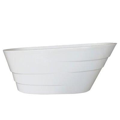 Podova 59 x 32 Freestanding Soaking Bathtub