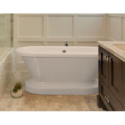 Ischia 60 x 30 Freestanding Soaking Bathtub