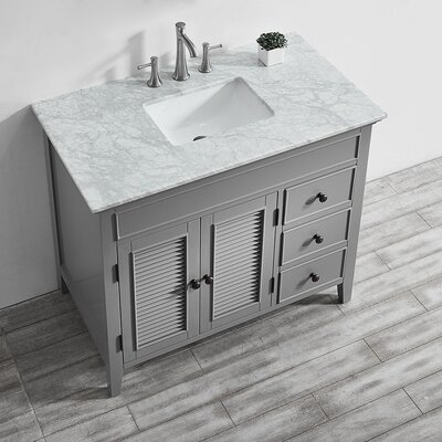Grovetown 42 Single Bathroom Vanity Set