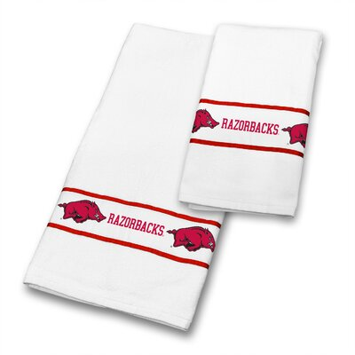 Arkansas University 2 Piece Towel Set