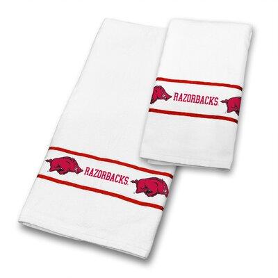 Arkansas University 2 Piece Towel Set