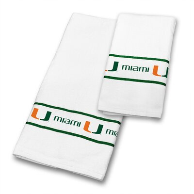 Miami University 2 Piece Towel Set