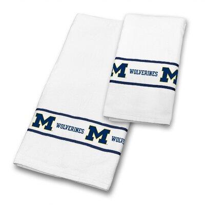Michigan University 2 Piece Towel Set