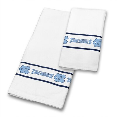 North Carolina University 2 Piece Towel Set