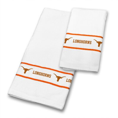 Texas University 2 Piece Towel Set