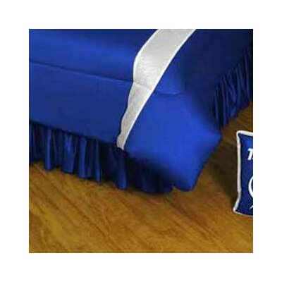 NHL Tampa Bay Lightning Polyester Jersey Bed Skirt Size: Full