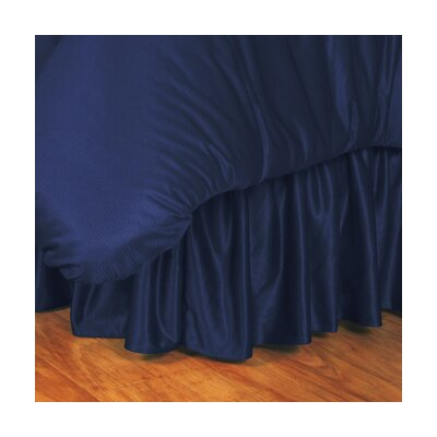 NCAA Auburn Bed Skirt Size: Queen