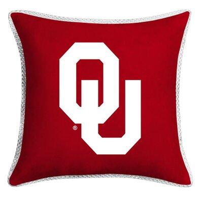 NCAA Oklahoma Sidelines Throw Pillow