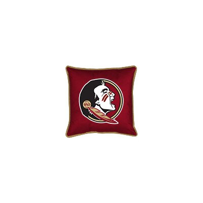 NCAA Florida State Sidelines Throw Pillow