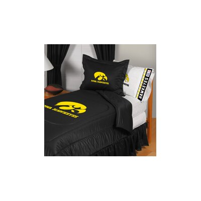University of Iowa Comforter Size: Full/Queen