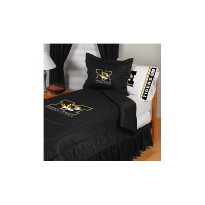 University of Missouri Comforter Size: Full/Queen