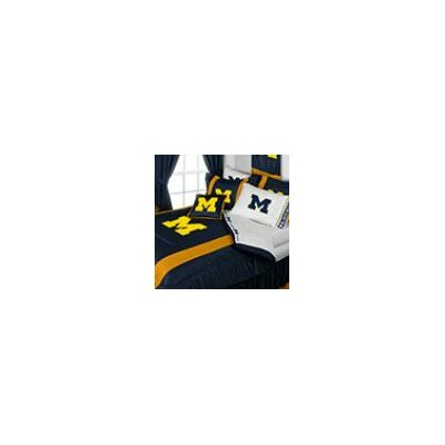 University of Michigan Comforter Size: Full/Queen