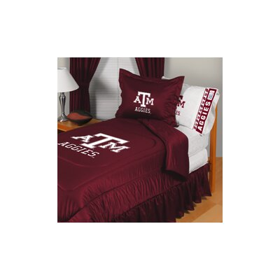 Texas A&M University Comforter Size: Full/Queen