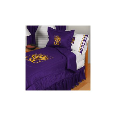 Louisiana State University Comforter Size: Full/Queen