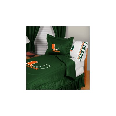 University of Miami Comforter Size: Twin