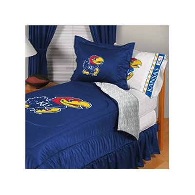 University of Kansas Comforter Size: Full/Queen