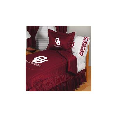 University of Oklahoma Comforter Size: Full/Queen
