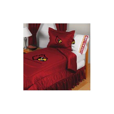 University of Louisville Comforter Size: Full/Queen