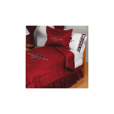 Texas Tech University Comforter Size: Full/Queen