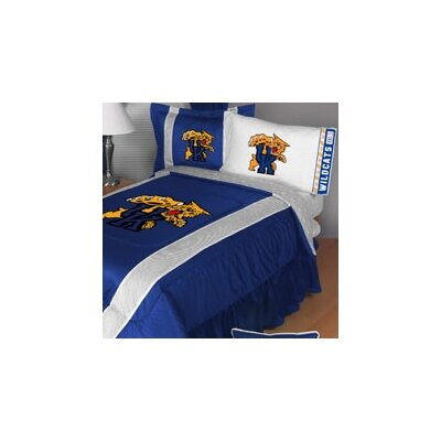 NCAA Kentucky Sidelines Comforter Size: Full/Queen