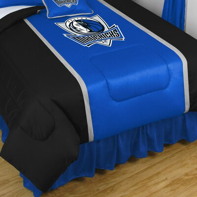 NBA Dallas Mavericks Sidelines Comforter Size: Queen